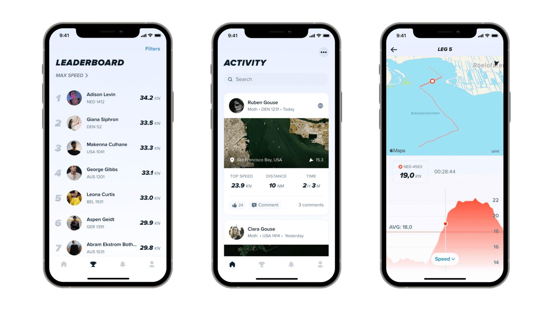 Sailmon-App-screenshots