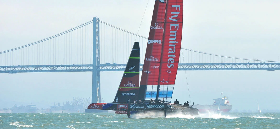 Sailmon Official Challenger in America's Cup 2022